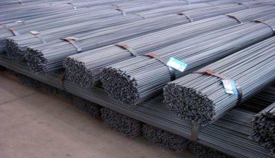 رشد تقاضای فولاد با شیب متوسط