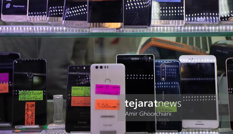 بازار گوشیهای کارکرده و دست دوم
