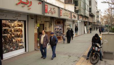 کفشهای بیمشتری در بازار فردوسی (گزارش تصویری)