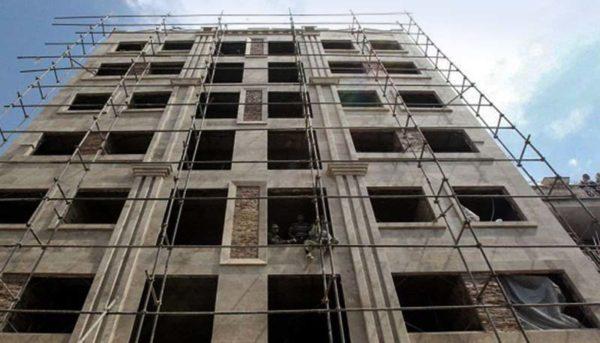 کاهش ۵,۴ درصدی پروانه احداث ساختمان در تهران
