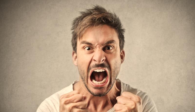 مرد عصبانی ویژگی شخصیتی