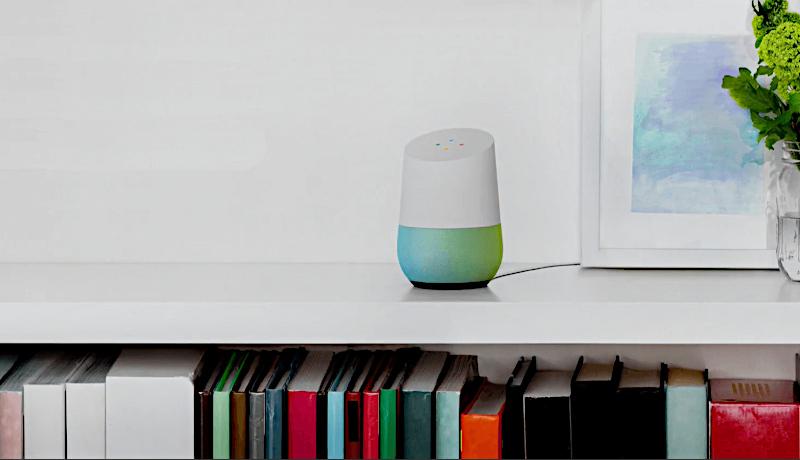 دستیار گوگل هوم روی میز آینده اپلیکیشنهای موبایل