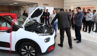 تحویل اولین سری خودروی سیتروئن C3 به مشتریان سایپا