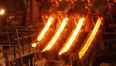 تولید فولاد خام کشور ۱۰ درصد افزایش یافت