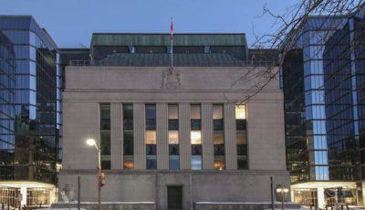 بانک مرکزی کانادا نیز نرخ بهره را افزایش میدهد