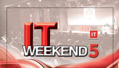 پنجمین جشنواره فناوری اطلاعات کشور ITWeekend 5