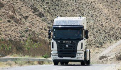 کامیون کاوه تولیدی شرکت سایپادیزل دو ستاره کیفی را کسب کرد