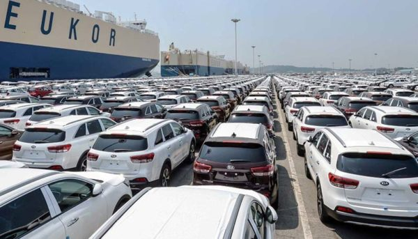 درآمد دولت از خودروهای وارداتی ۳ برابر شد