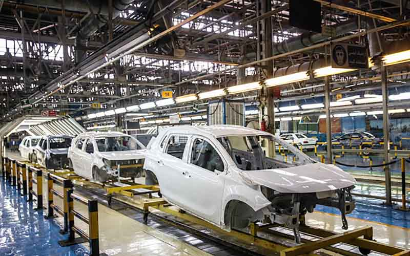 تولید خودرو در ماه فروردین چقدر بود؟