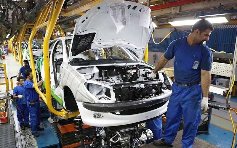 توقف تولید خودرو در سال ۹۸