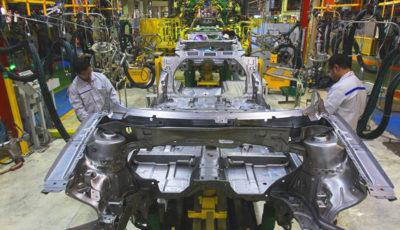 آخرین آمار تولید خودرو در سایپا