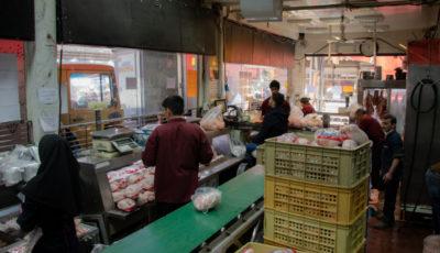 عرضه قطره چکانی مرغ تنظیم بازاری در میادین اصلی