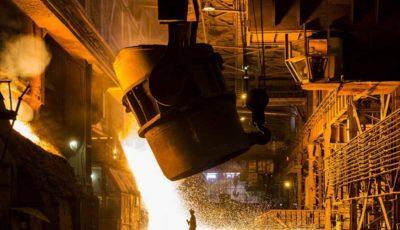 تولید فولاد ایران ۵.۶ درصد افزایش یافت