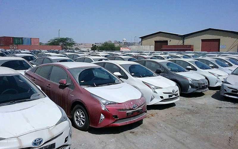 بازار خودروهای کارکرده خارجی داغ شد