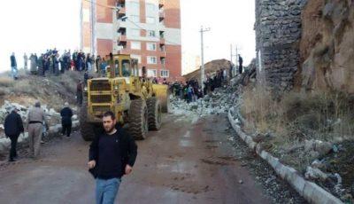 ۲ کشته بر اثر ریزش دیوار حائل مسکن مهر در مهاباد