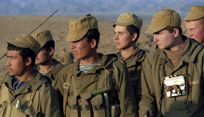 جنگ افغانستان شوروی