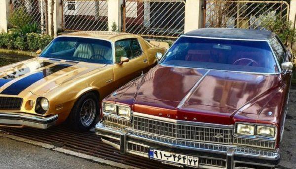 خودروی عتیقه آمریکایی در ایران