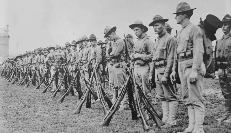ارتش آمریکا جنگ جهانی اول فرانسه اقتصاد آمریکا