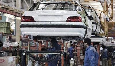 تولید کدام خودروها بیشتر افت داشته است؟ / کاهش تولید خودرو به روایت یک اینفوگرافیک