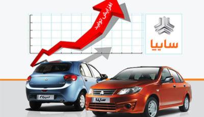تولید خودرو در گروه سایپا به بیش از ۲۰۰۰ دستگاه رسید