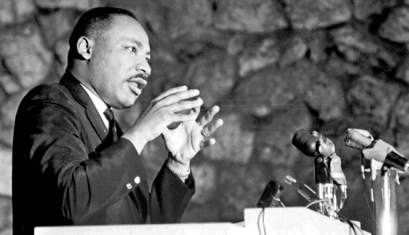 مارتین لوتر کینگ مهارت سخنرانی