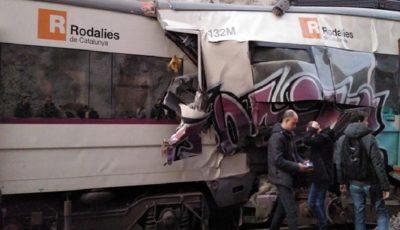 برخورد ۲ قطار در اسپانیا یک کشته و ۱۰۵ زخمی برجای گذاشت