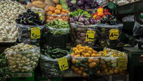 تورم خوراکیها در اولین ماه پس از گرانی بنزین (اینفوگرافیک)