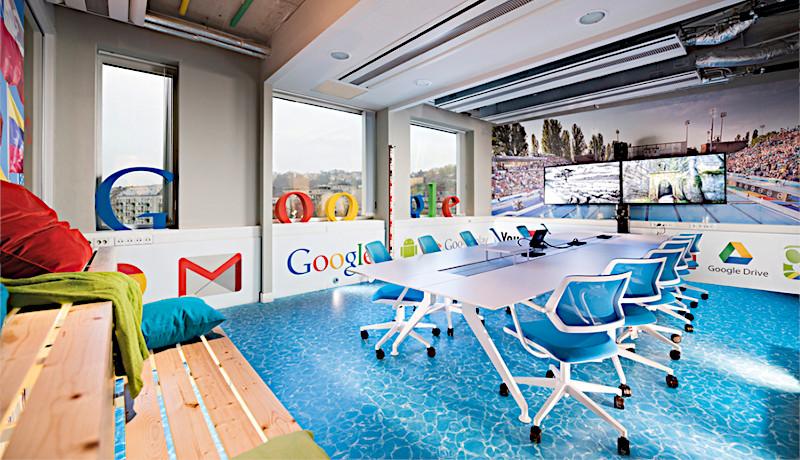 دفتر گوگل قانون کانوی ساختار سازمان