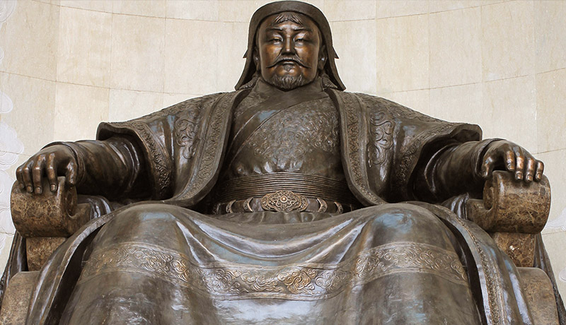 چنگیزخان امپراتوری مغول