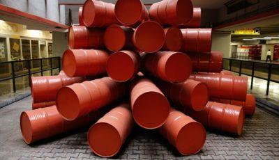 قیمت نفت یک روزه بیش از ۲ درصد کاهش یافت