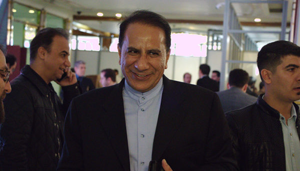 جهانگیری در انتخابات اتاق بازرگانی تهران (عکس)