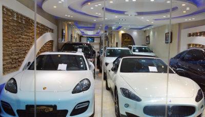 خودروهای لوکس بیپلاک در نمایشگاههای تهران (گزارش تصویری)