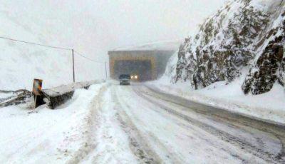 محور هراز به دلیل بارش برف و کولاک مسدود شد
