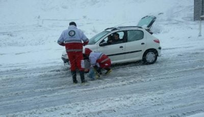 برف و باران جادههای ۱۹ استان را فراگرفت / هشدار به مسافران برای تجهیزات زمستانی