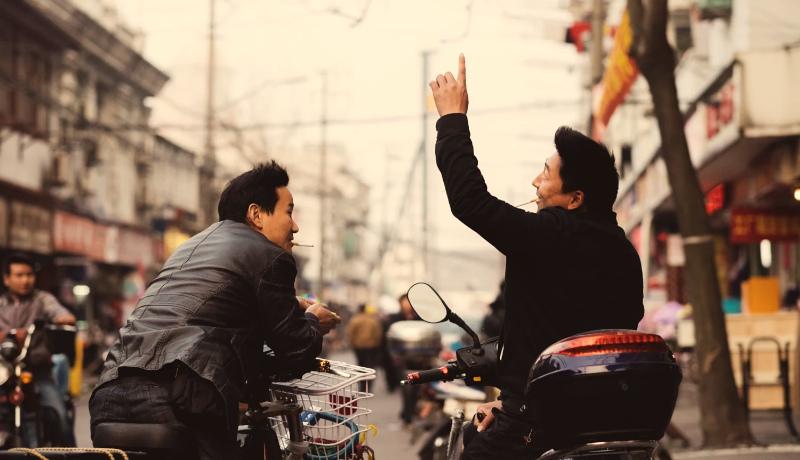 دو مرد خیابان حرف
