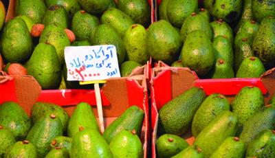 میوه آمریکایی در بازار تجریش ؛ هر عدد 30 هزار تومان (عکس)