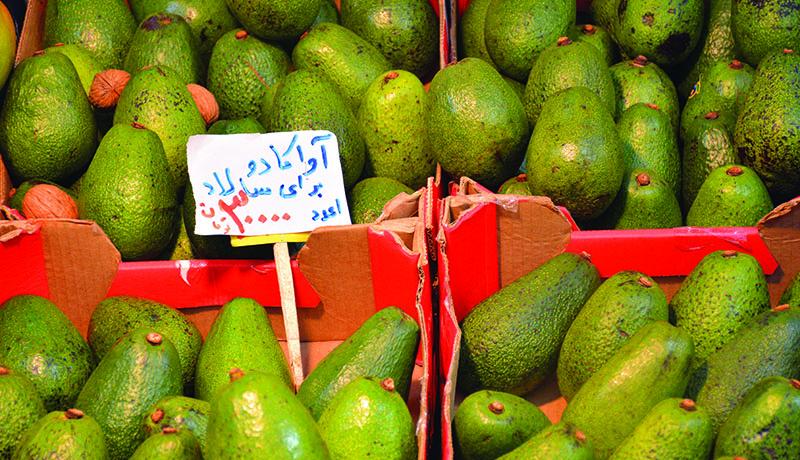 میوه آمریکایی در بازار تجریش ؛ هر عدد ۳۰ هزار تومان (عکس)