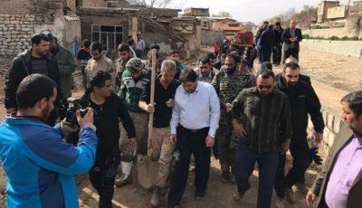 خدمات ستاد اجرایی فرمان حضرت امام (ره) به سیلزدگان لرستانی