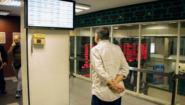 ریزش بورس در چند دقیقه ابتدایی معاملات