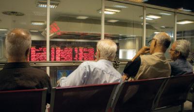 بازدهی یک درصدی بورس در فردای پس از تحریم