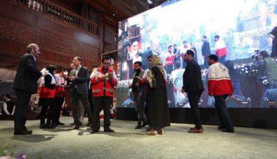 جمعآوری بیش از 25.3 میلیارد تومان کمک مردمی در گردهمایی اکران فیلم تختی در بازار بزرگ ایران