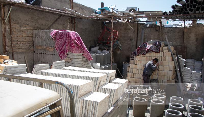 بازار مصالح ساختمانی تهران به روایت یک گزارش تصویری - 6