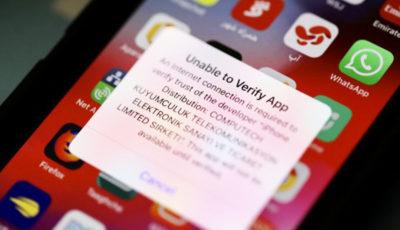 محدودیت دسترسی به اپلیکیشنهای ایرانی در گوشیهای آیفون