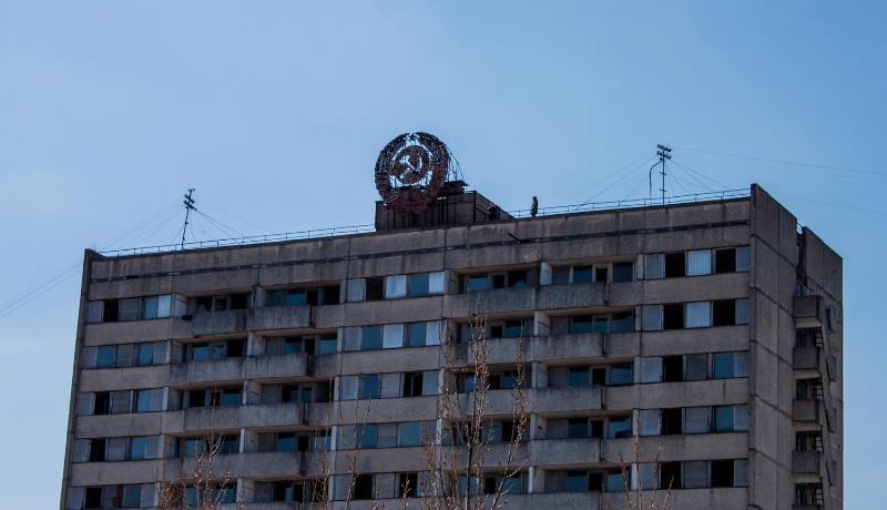 ساختمان چرنوبیل اوکراین