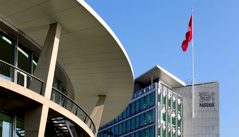 دفتر شرکت نستله زوریخ سوئیس