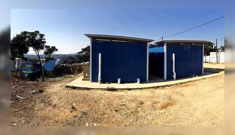دستشویی عمومی نیوجنراتور دربن آفریقای جنوبی