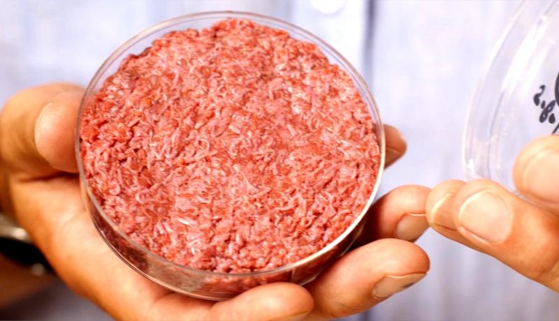 گوشت تولید شده آزمایشگاه