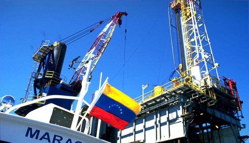 سکوی نفتی ونزوئلا