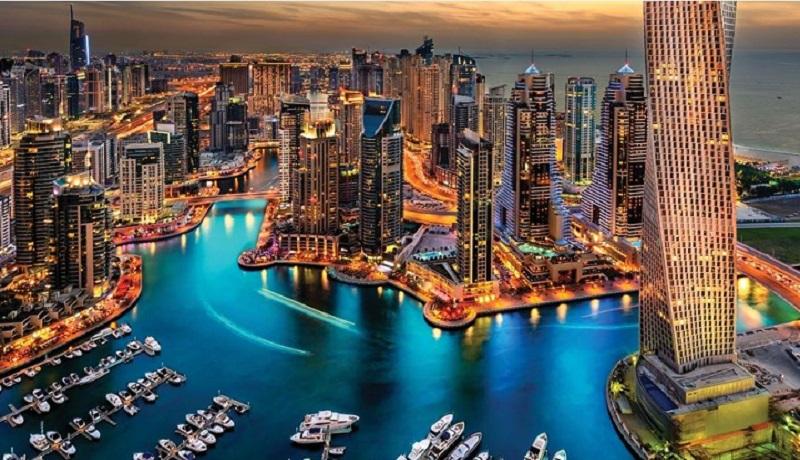 دبی شهر پر زرق و برق