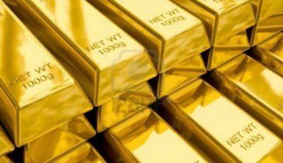 قیمت طلا به بالاترین رقم در یک ماهه اخیر رسید